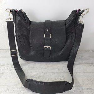 Kelly Moore Hobo Camera Bag  Vegan Leather
